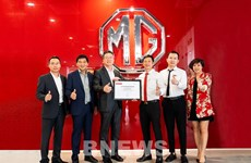 MG sports cars debut in Vietnam