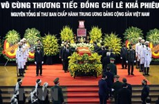 More condolences over late leader's passing
