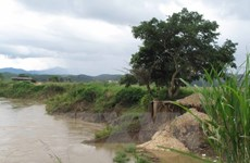 Dak Nong approves anti-landslide projects along Krong No river