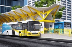 HCM City cuts costs for first BRT route