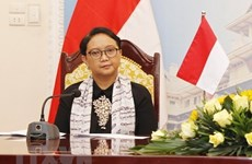 Indonesian Foreign Minister visits China