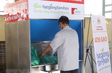 """Rice ATM"" using AI helps the poor in Da Nang"