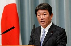 Japanese foreign minister visits Papua New Guinea, Cambodia, Laos, Myanmar