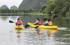 Kayak tours on offer at Trang An Scenic Landscape Complex