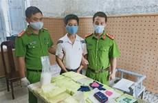 Two drug cases busted in Dien Bien
