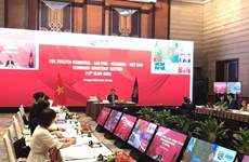 12th CLMV Economic Ministers' Meeting held online