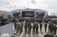 Vietnamese team makes impression at opening of Army Games 2020
