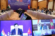 Vietnam, India hold 17th Joint Commission's meeting