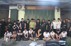 21 wanted Chinese scammers caught in Lao Cai