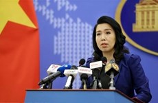 Activities in Truong Sa without Vietnam's permission have no merit: Spokeswoman