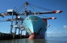 Volume of goods through seaports up 6 percent in eight months