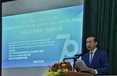 Webinar marks 70th anniversary of Vietnam-China diplomatic ties