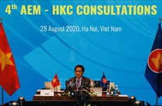 ASEAN, Hong Kong hold consultations
