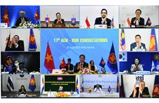 ASEAN, RoK ministers meet within framework of AEM-52