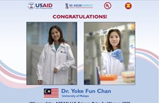 Winner of ASEAN-US Science Prize for Women 2020 announced