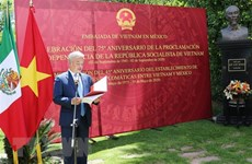 Vietnam's National Day observed in Mexico
