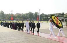 Leaders commemorate President Ho Chi Minh on National Day