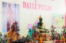 OVs in Laos celebrate Buddhist Vu Lan festival