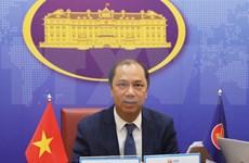 ASEAN senior officials discuss bloc's external relations