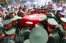 War martyrs laid to rest in Dak Nong