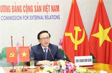 Communist Party officials of Vietnam, Japan hold online talks