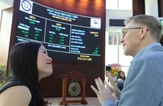 Foreign investors' accounts reach high