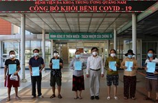 Thirteen COVID-19 patients recover in Quang Nam