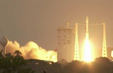 Thailand launches first security satellite into space
