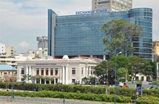 Stock exchange's profit up in first half