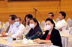 NA Chairwoman attends rehearsal for AIPA-41