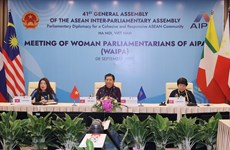 Female parliamentarians play important role in securing jobs, income for women workers
