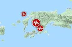 6.2-magnitude quake hits eastern Indonesia