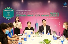 Award promotes sustainable development of smart cities