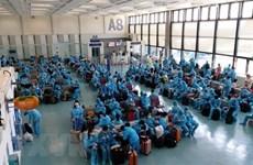 230 Vietnamese citizens flown home