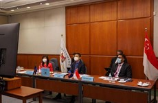 Singapore calls for stronger intra-ASEAN cooperation in COVID-19 fight
