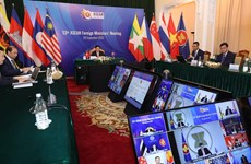 ASEAN 2020: 53rd ASEAN Foreign Ministers' Meeting opens in Hanoi