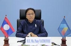 AIPA-41: Top Lao legislator praises Vietnam's high sense of responsibility