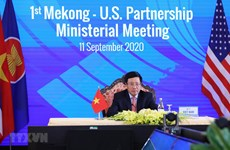 First Mekong-US Partnership Ministerial Meeting held virtually