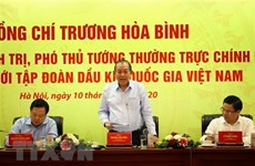 Deputy PM urges PetroVietnam to boost exploration, exploitation capacity