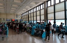 Over 360 Vietnamese citizens flown home from Singapore