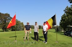 Belgian golf tournament raises funds for Vietnamese AO/Dioxin victims