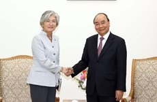 Prime Minister receives RoK Foreign Minister