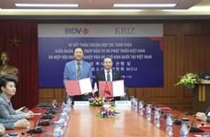 BIDV, RoK federation promote cooperation