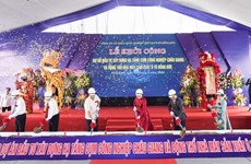 Work starts on industrial cluster, automobile factory in Ha Nam