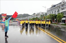 Over 2,200 people take part in Quang Ninh's Olympic Run Day for Public Health
