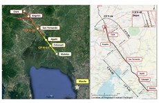 RoK firm wins contract for No.1 section of Philippines' north-south railway project