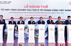 Work starts on automobile supporting industry complex in Quang Ninh