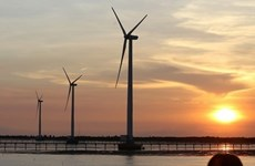Construction starts on two wind farms in Gia Lai province