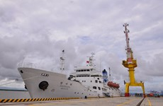 Vietnam Maritime University receives training ship donated by RoK