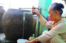 Long An: 65 pct. of rural households to access clean water by 2025